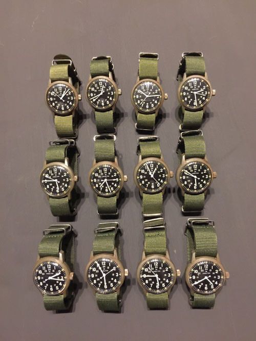 60's Us Army Vietnam War Plastic Watch
